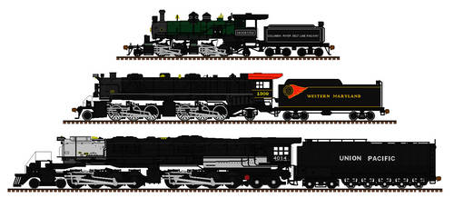 Year Of The Articulated Locomotives by Andrewk4
