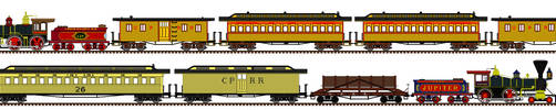 Transcontiniental Train Sets by Andrewk4