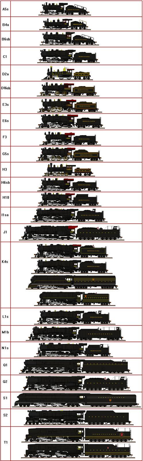 Pennsylvania Steam by Andrewk4