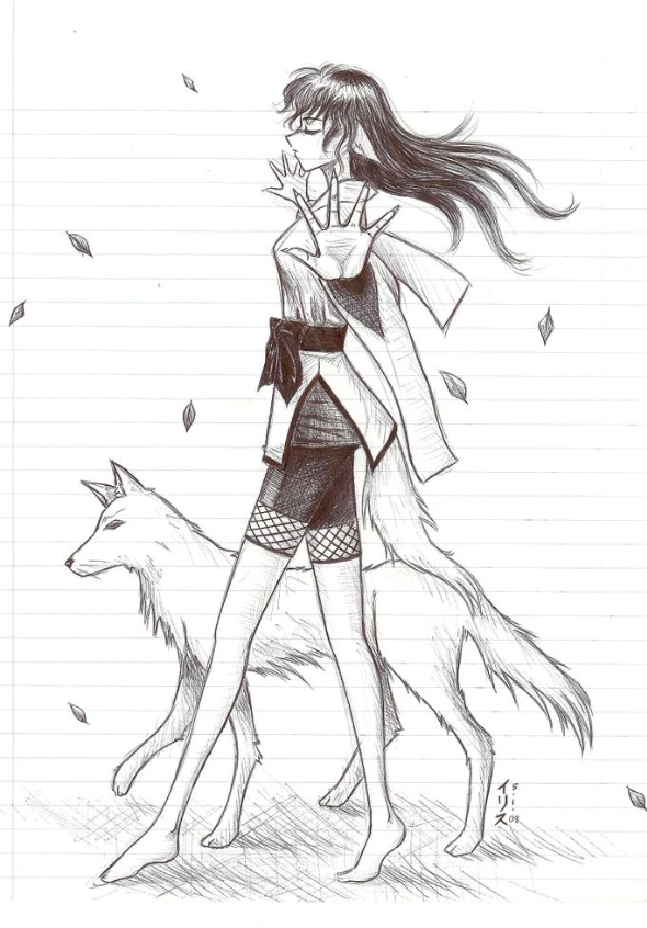 Wolf Girl By Sylentsongs On Deviantart