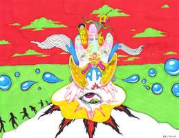 Desert Hallucination by Sabu-Kudo