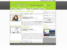 SabuKudo.com v2.0 Final Layout by Sabu-Kudo