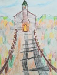 Landscape drawing i made