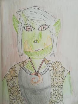 Little Orc Lady