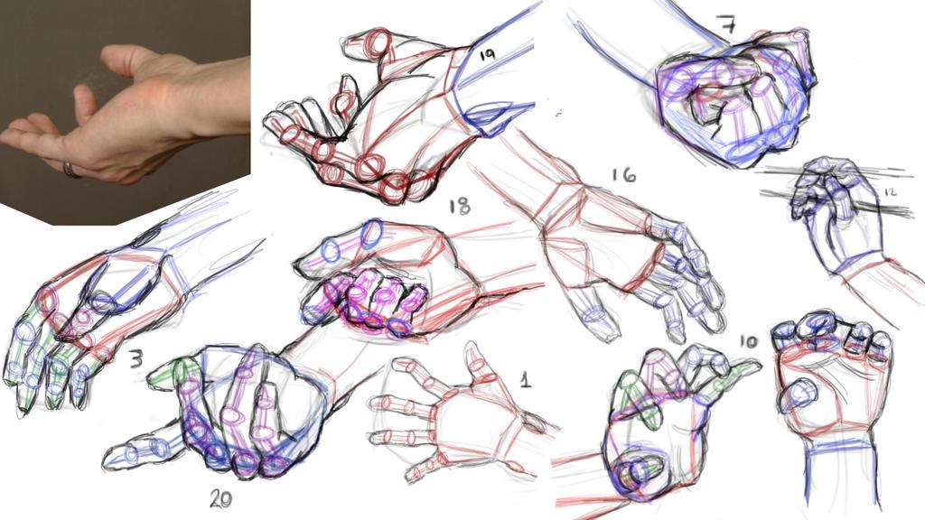 Hand Construction by anaisgomez on DeviantArt