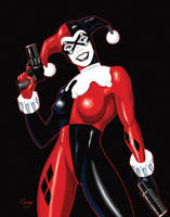 Harley Quinn by tsantiago