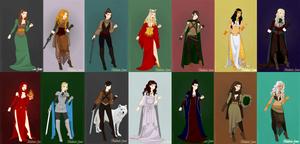 Westeros ladies 2