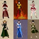 Avatar: The Last Air Bender Bad Ass Ladies