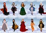 A Song of Ice and Fire visits Winterfell