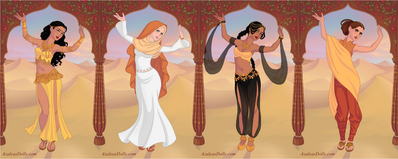 Arianne Martell and the Sand Snakes