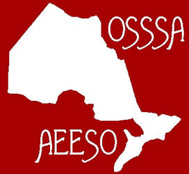 Logo for OSSSA - bilingual by Almonaster
