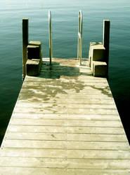 A dock of memory... by BLUEKANJI
