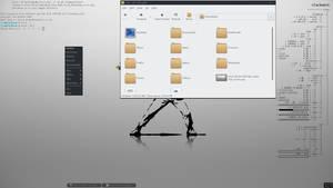 slackware openbox screenshot