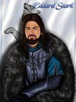 ASOIAF: Eddard Stark by nejna