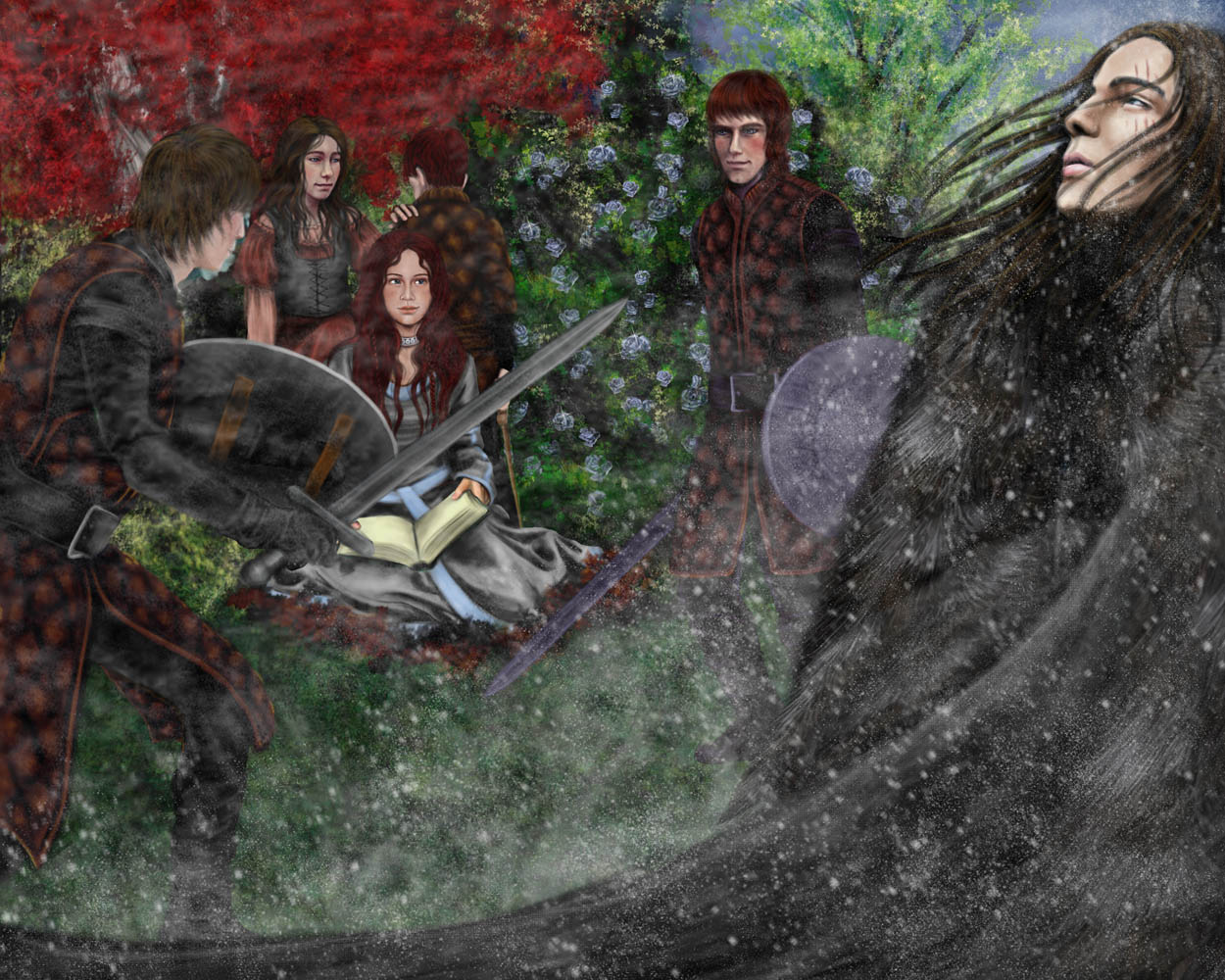 ASOIAF: And Then Winter Came by nejna