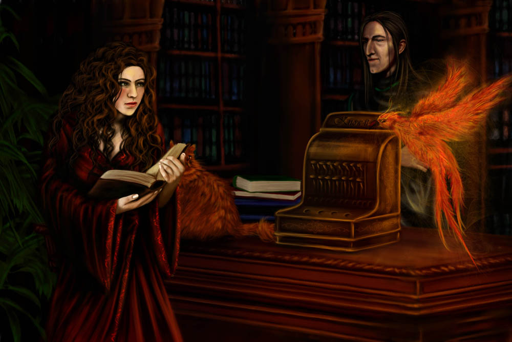 HP: Like a Phoenix by nejna