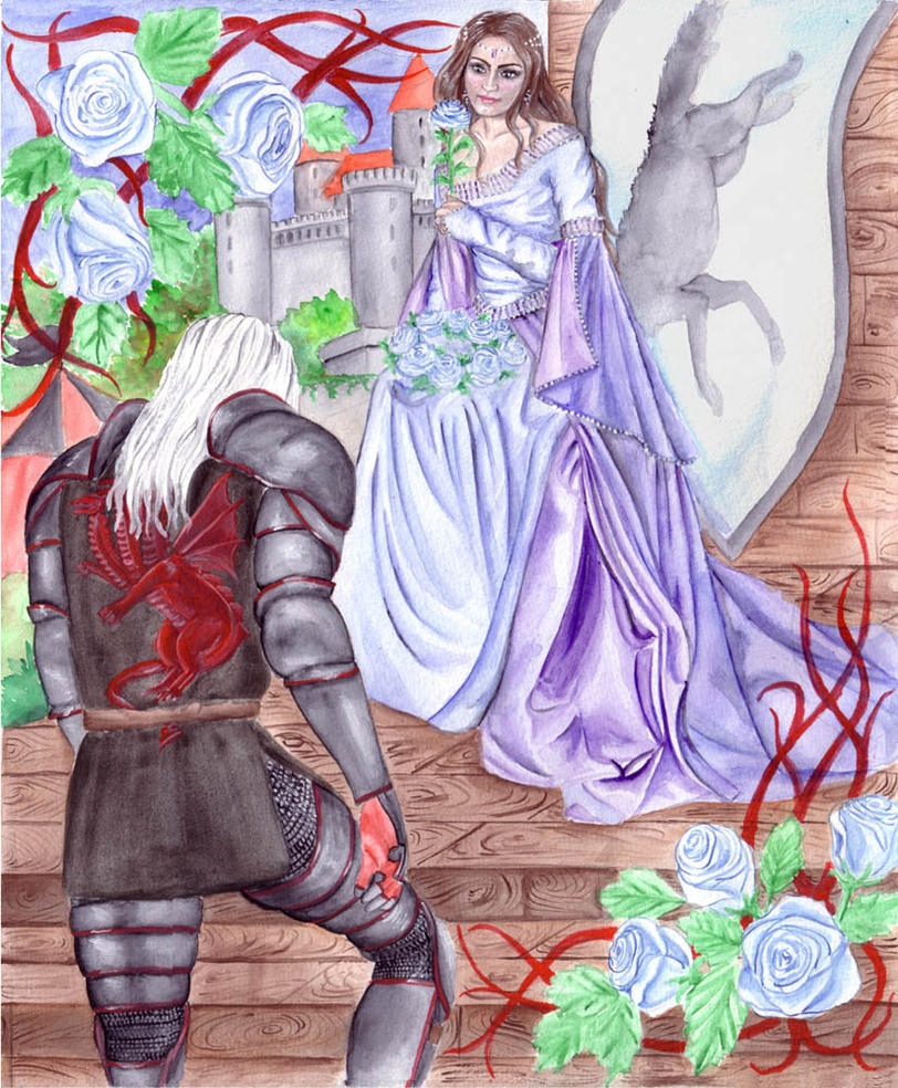ASOIAF: Winter roses by nejna