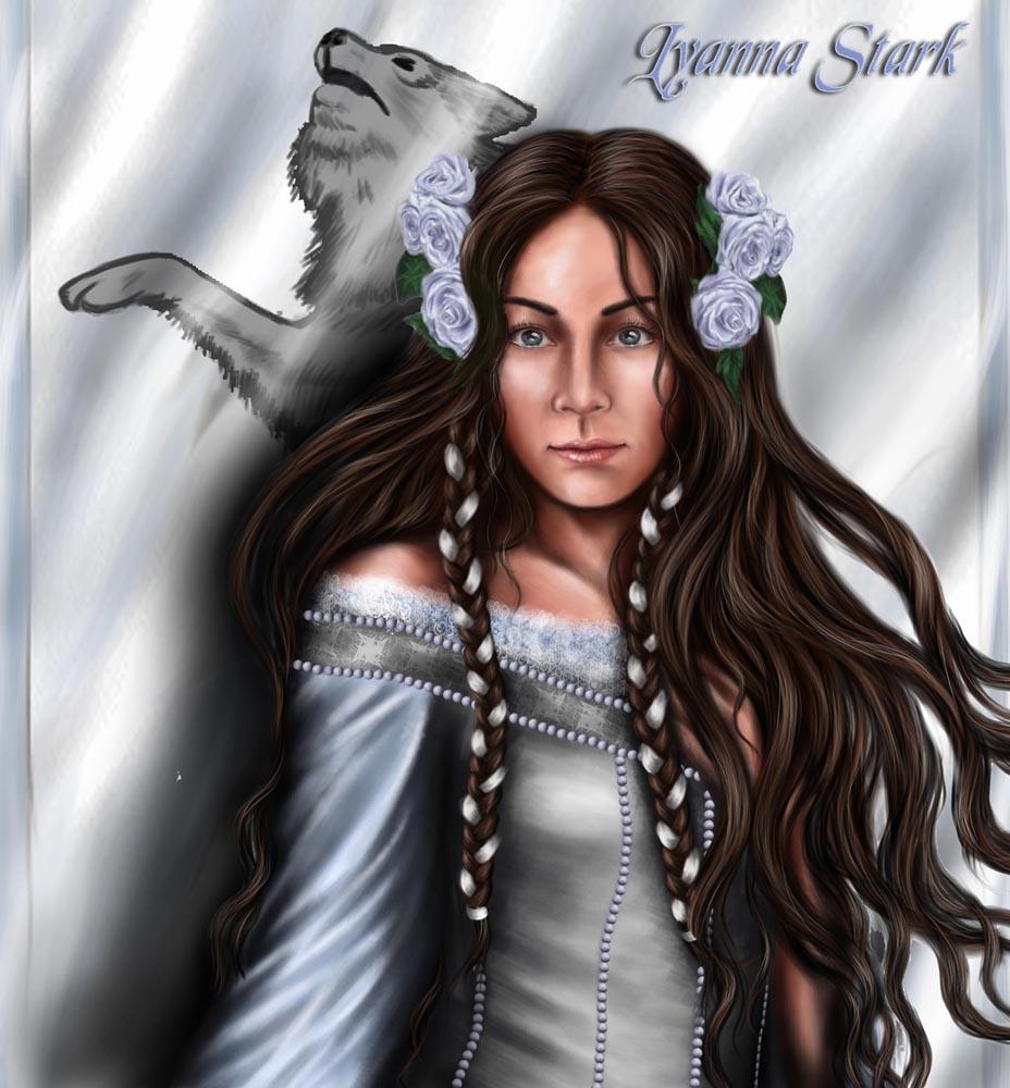 ASOIAF: Lyanna Stark by nejna