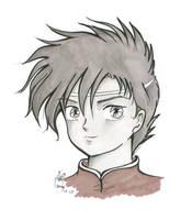 Boy face by Sozalina
