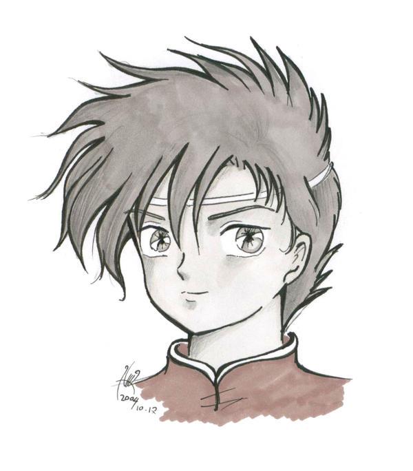 Boy face by Sozalina on DeviantArt