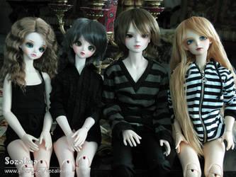 my SD dolls