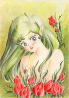 Grean Flower by Sozalina