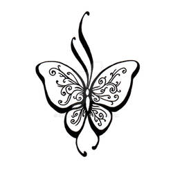 Butterfly Tatoo Design