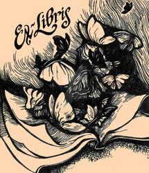 Butterflies Ex-Libris