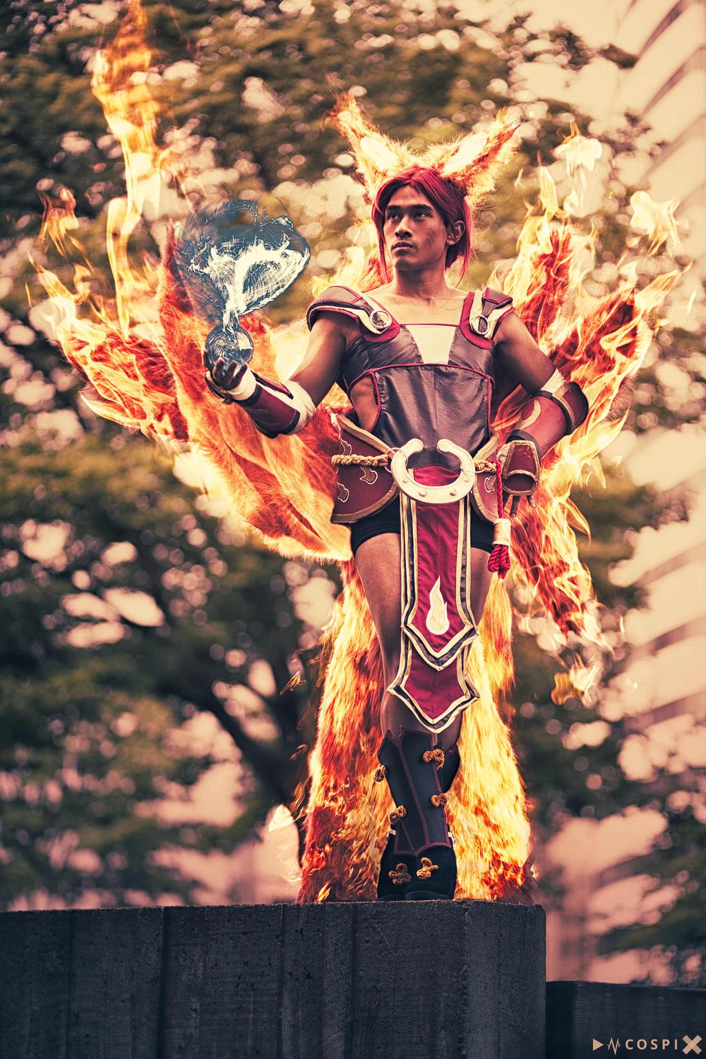 Foxfire Ahri - Darkain Media by DISC-Photography