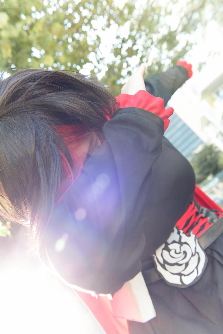 RWBY - Ruby Dab by DISC-Photography