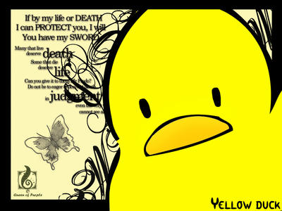 Yellow duck by damonec