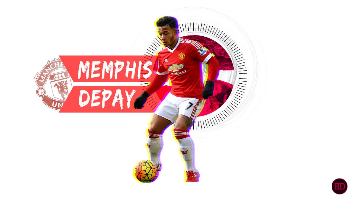 Depay Man Utd Wallpaper