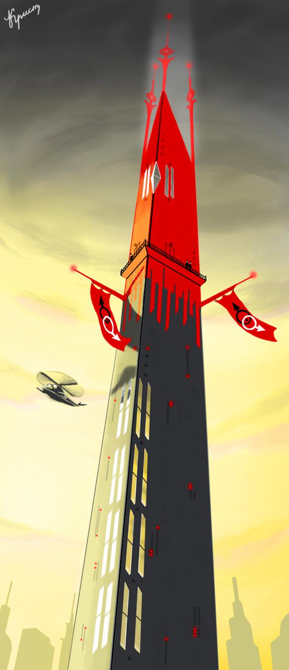 Dark Tower by Sovietfuturistic