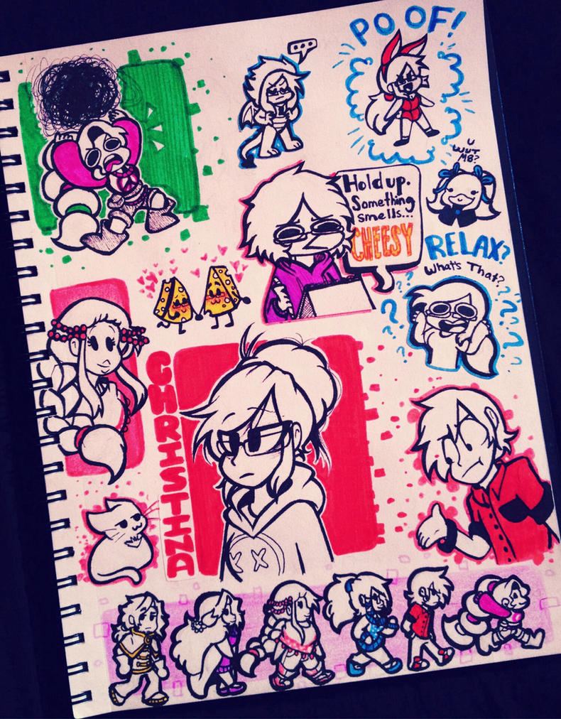 Doodle Explosion! by ChristinaDragon