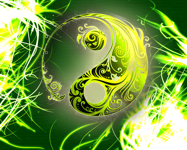 yin yang wallpaper by nialeite on deviantart