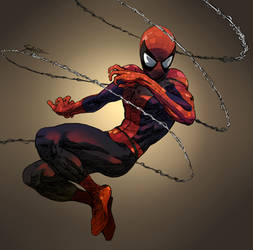 Spidey - Color by saintwizard