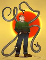 Dr. Octopus Re-imagination by saintwizard
