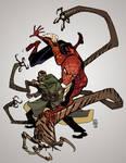 Spidermanvsdoc Ock Commission Color