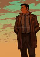 Detective Gumshoe by saintwizard