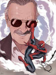 Commission: Thank you Stan Lee