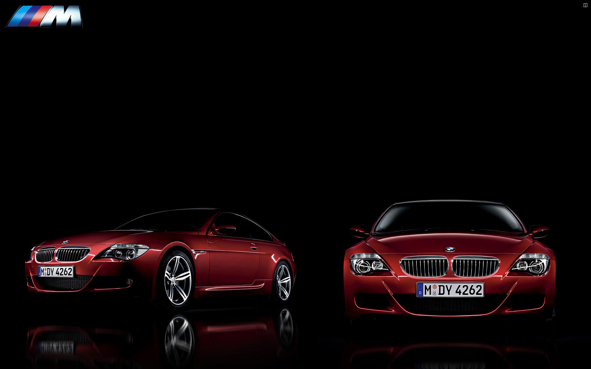 BMW M6 desktop background