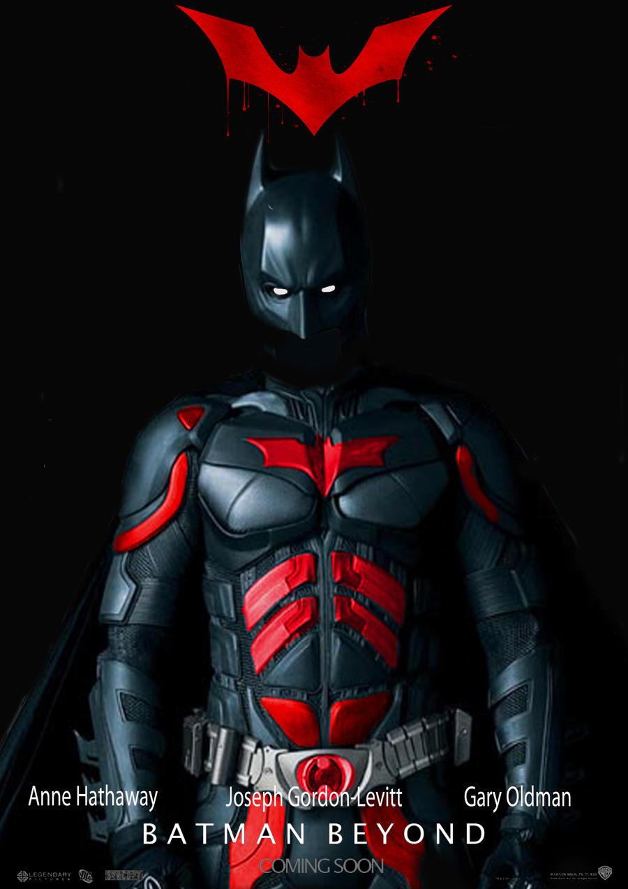 Batman Beyond Poster by Kal-elmeeksio on DeviantArt Joseph Gordon Levitt Nightwing