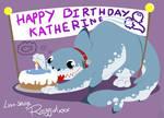 Secret Sharky Birthday Santa by raygirl