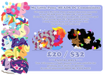 Pony -HEADS commission details