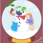 Glade of Dreams Snowglobe Collection: Snowman by raygirl