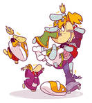 Everybody hugs Rayman 2 by raygirl