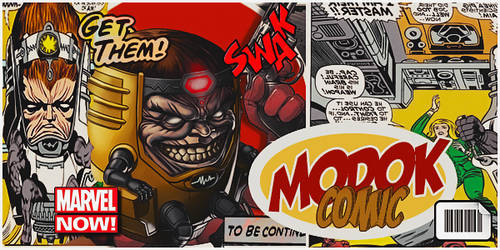 MODOK COMIC tag by DraghenGFX