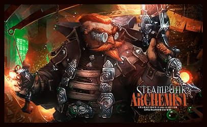 Archemiste Steampunk by DraghenGFX