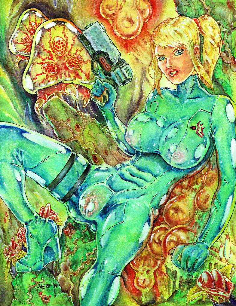 Sexy Samus by Thewog