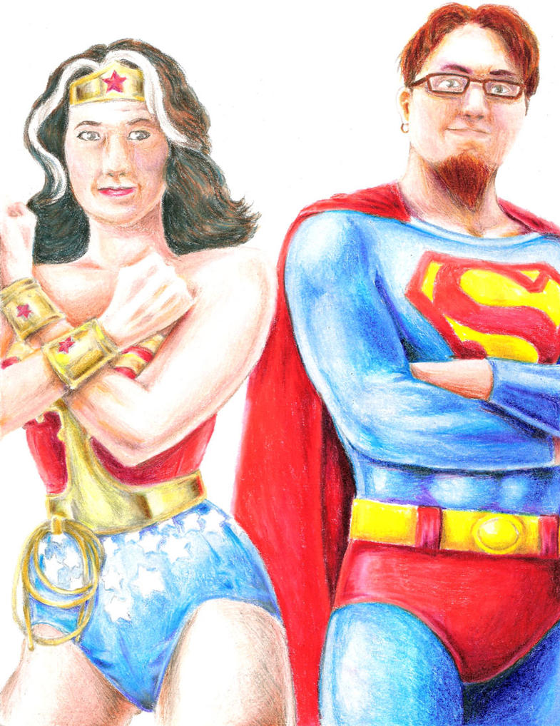 Family Super Portrait Commission by Thewog